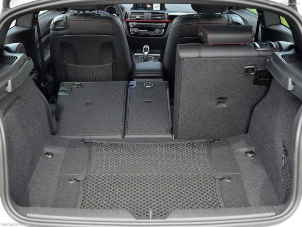 БМВ 1-Series 3-door 2018 года, багажник