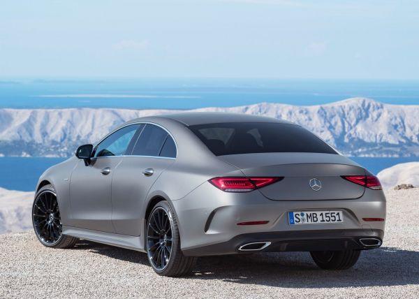 Задняя светодиодная оптика Mercedes-Benz CLS