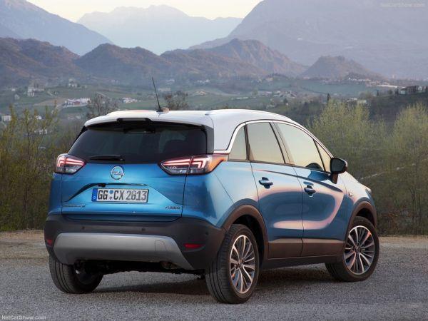 Opel Crossland X 2018: характеристики, цена, фото и видео-обзор