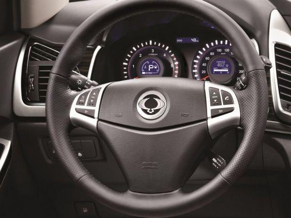 Панель приборов и руль управления
