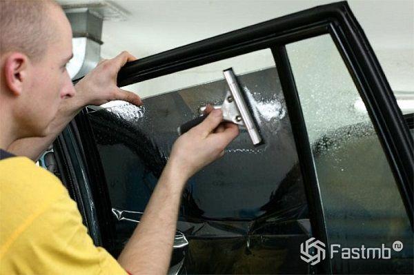 Тонировка боковых стекол своими руками