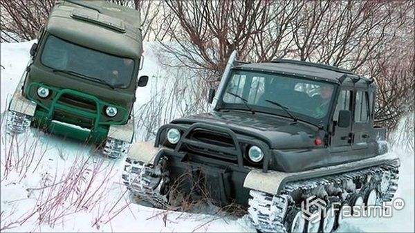 Автомобили для зимней рыбалки