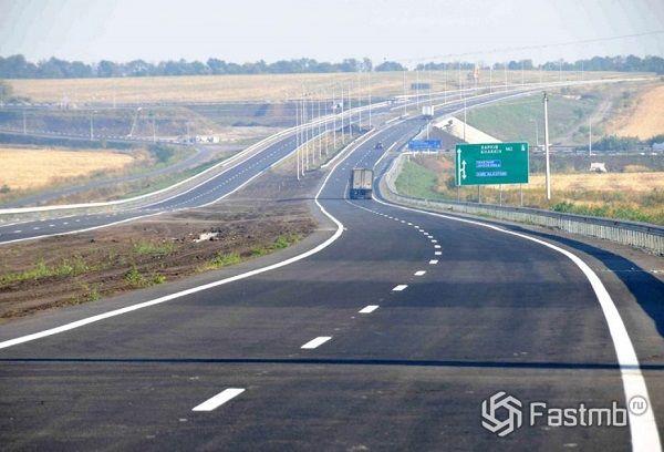размер страны при строительстве дорог