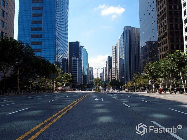 дороги в мегаполисах