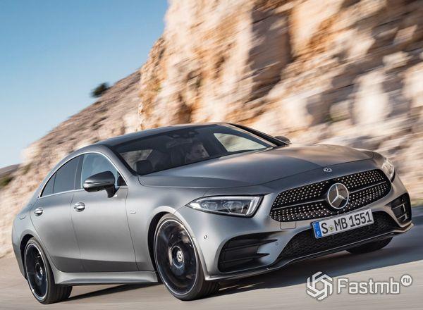 Совершенно новый Mercedes-Benz CLS 2018