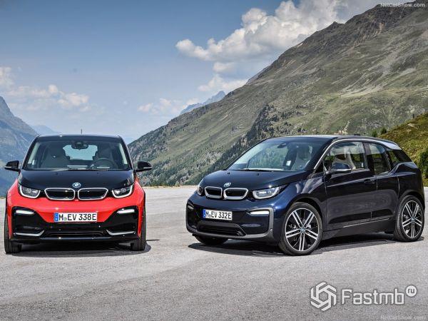 автомобили BMW i3 2017-2018