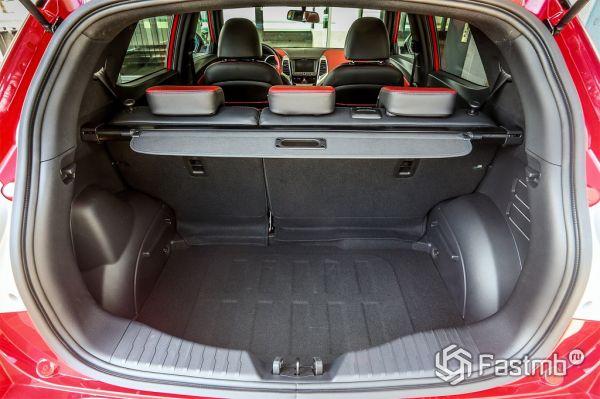 SsangYong Tivoli 2017, багажник