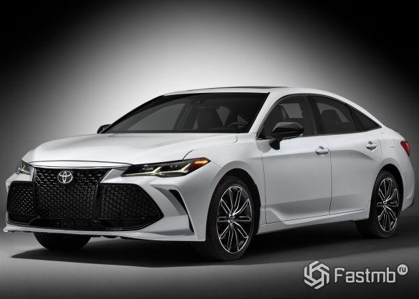 Новая генерация Toyota Avalon 2019