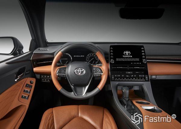 Передняя панель Toyota Avalon 2019