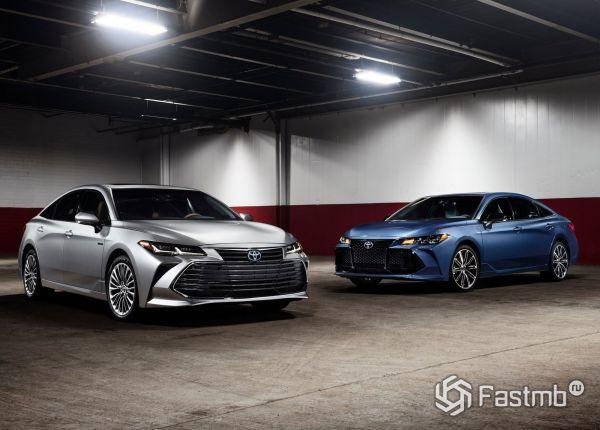 Пятое поколение Toyota Avalon 2019