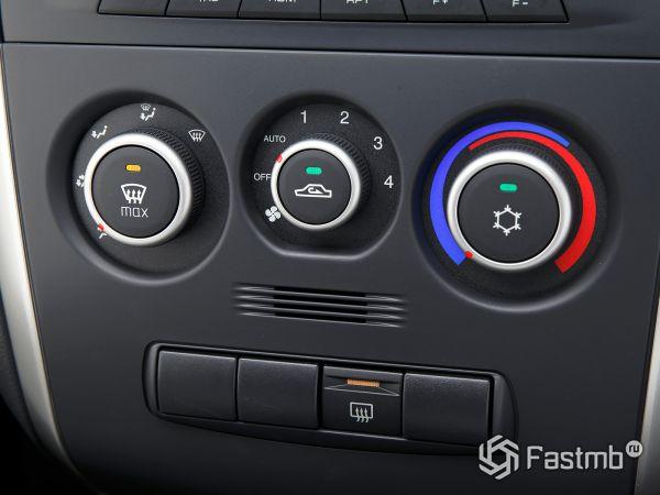 Панель кондиционера Datsun On-DO 2017