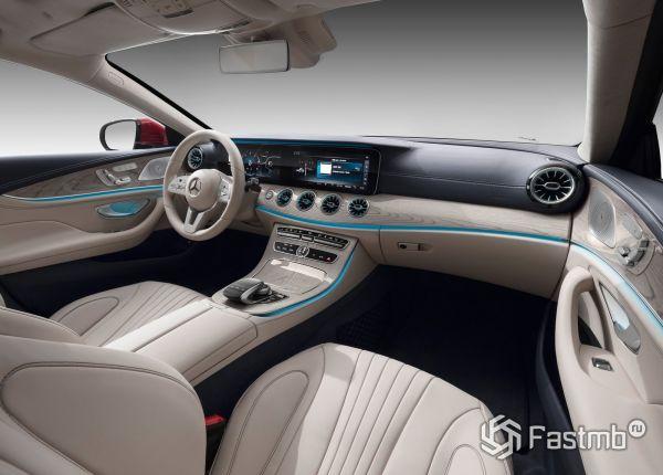 Интерьер нового Mercedes-Benz CLS 2018