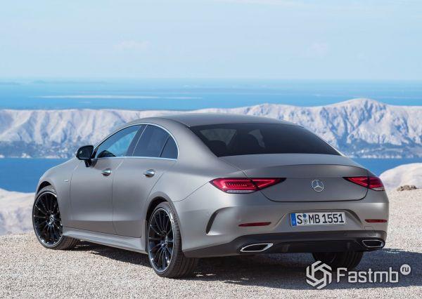 Mercedes-Benz CLS 2019, вид сзади