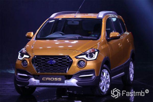 Представлен новый кроссовер Datsun Go-Cross 2018