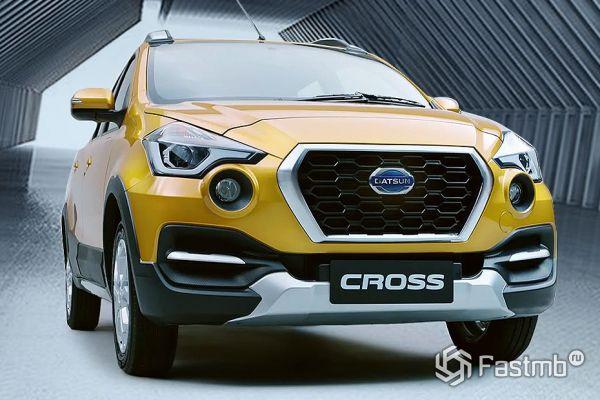 Решетка радиатора нового Datsun Go-Cross 2018