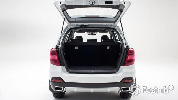 Багажное отделение кроссовера Lifan X60 2018