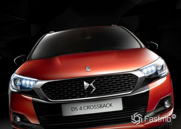 Новый DS 4 Crossback 2018
