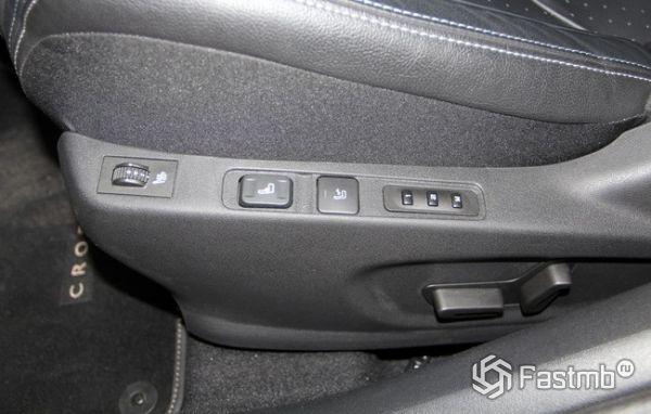 Электронная регулировка сиденья водителя