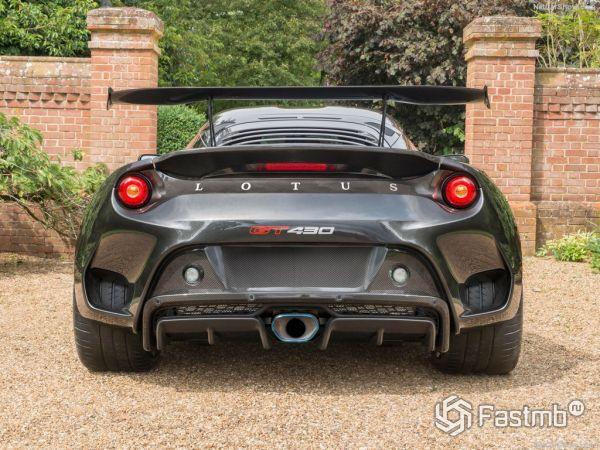 Lotus Evora GT430 2018, вид сзади