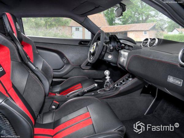 Lotus Evora GT430 2018, передние сидения