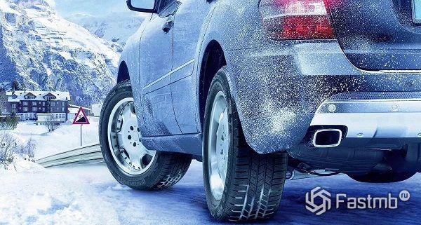 Прогрев машины в мороз