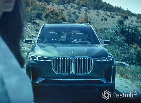 Концепт нового BMW X7