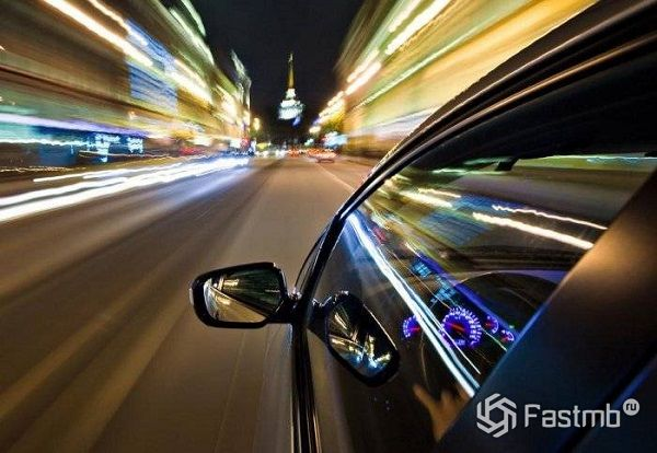 Превышение скорости