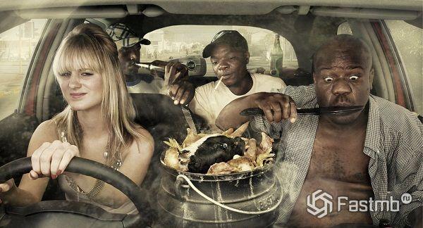 Какую пищу не следует употреблять за рулем