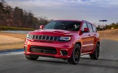 Jeep Grand Cherokee Trackhawk 2018: самый мощный Cherokee
