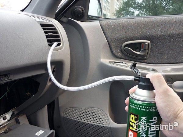 Чистим автомобильный кондиционер