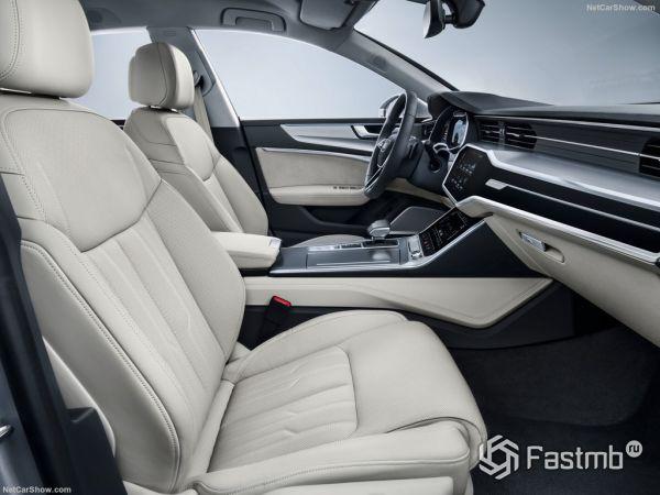 Audi A7 Sportback 2018, передние сидения