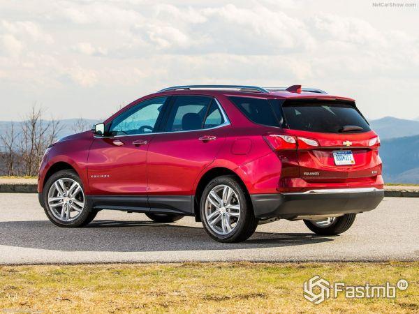 Chevrolet Equinox 2018: характеристики, цена, фото и видео-обзор