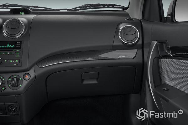 Подушки безопасности переднего пассажира