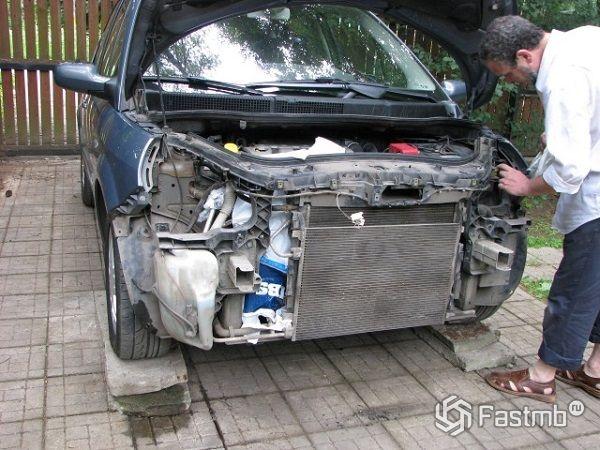 Ненадлежащая эксплуатация радиатора автомобиля