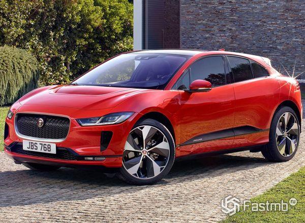 Внешний вид нового кроссовера Jaguar I-Pace 2018-2019