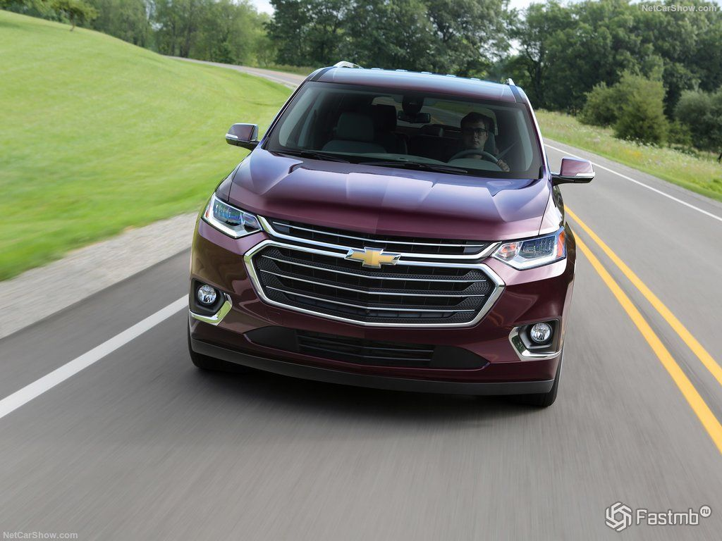Chevrolet Traverse 2018: характеристики, цена, фото и ...