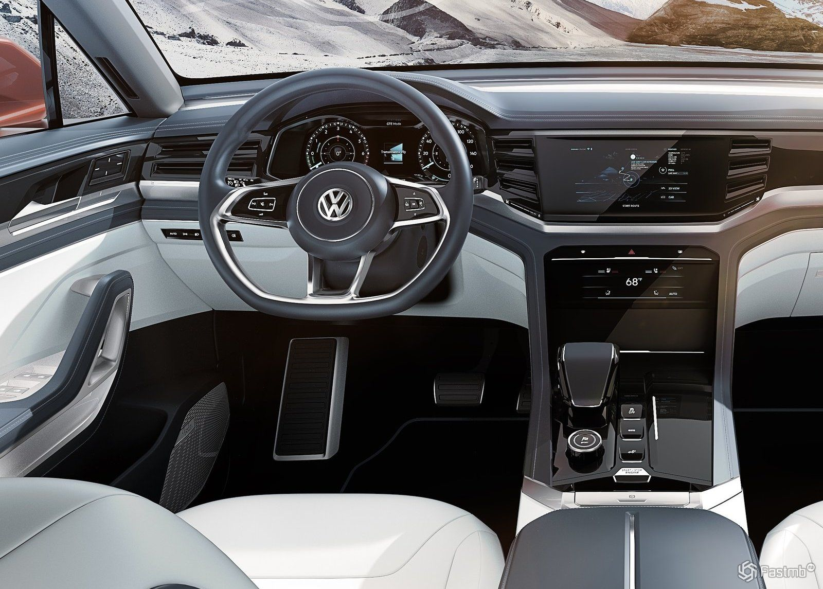 volkswagen atlas cross sport 2019. Black Bedroom Furniture Sets. Home Design Ideas
