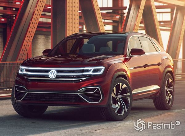 Новый Volkswagen Atlas Cross Sport 2019
