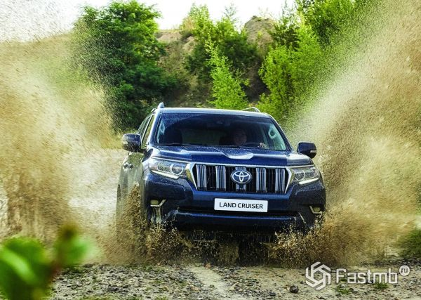 Рестайлинг нового Toyota Land Cruiser Prado 2018