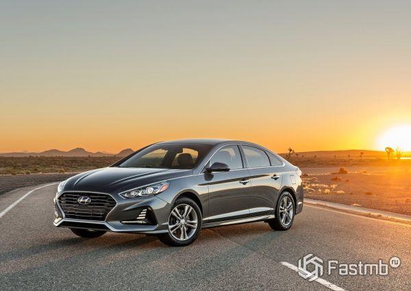 Новое поколение Hyundai Sonata 2018