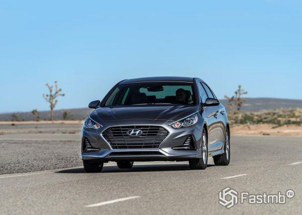 Передняя оптика Hyundai Sonata 2018