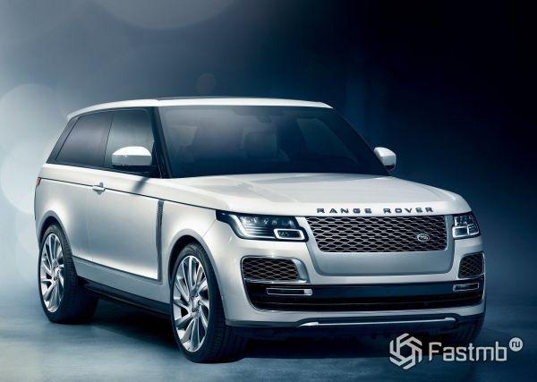 Новый Land Rover Range Rover SV Coupe 2019
