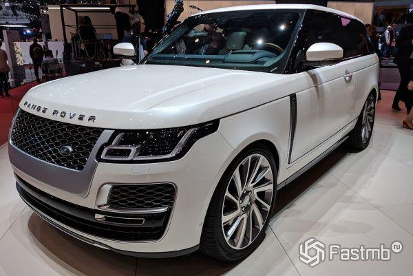Трехдверный Range Rover SV Coupe 2019