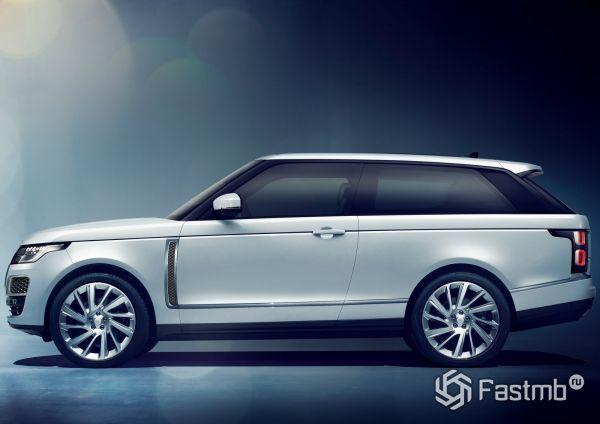 Range Rover SV Coupe 2019, вид сбоку