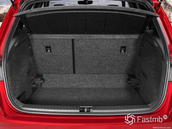 Seat Arona 2018, багажник