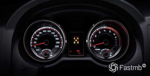 Панель приборов Mitsubishi Pajero 2018