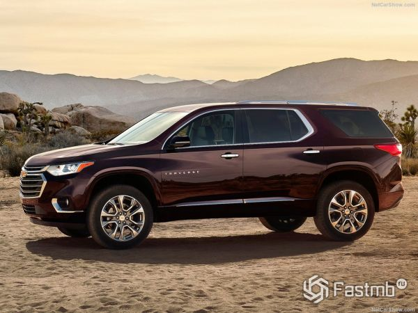 Chevrolet Traverse 2018: характеристики, цена, фото и видео-обзор