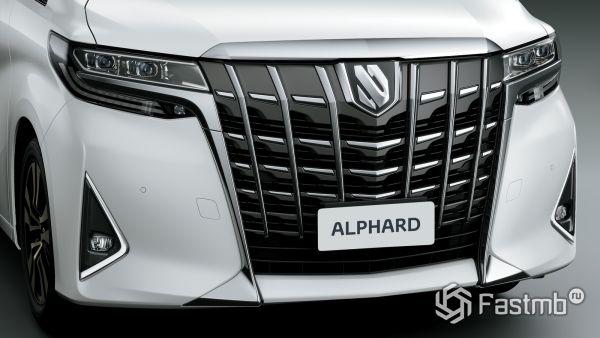 Новая Toyota Alphard 2018