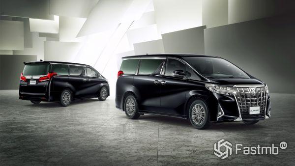 Новый японский минивэн Toyota Alphard 2019