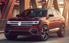 Младший брат Volkswagen Atlas Cross Sport 2019